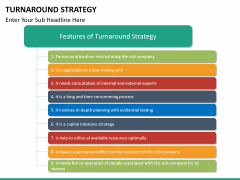 Turnaround Strategy PPT slide 21