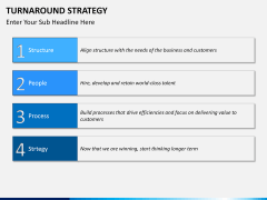Turnaround Strategy PPT slide 12