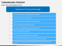 Turnaround Strategy PPT slide 8
