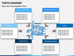 Turtle Diagram PPT slide 4