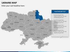 Ukraine map PPT slide 11