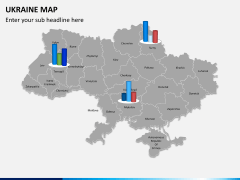 Ukraine map PPT slide 12