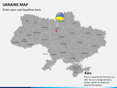Ukraine map PPT slide 15