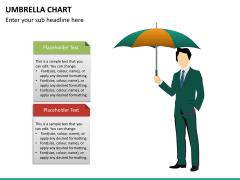 Umbrella chart PPT slide 11