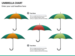 Umbrella chart PPT slide 12