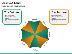 Umbrella chart PPT slide 16