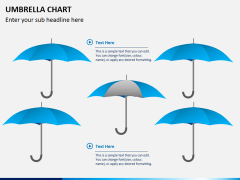 Umbrella chart PPT slide 4