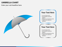Umbrella chart PPT slide 7