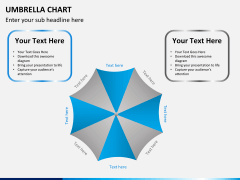 Umbrella chart PPT slide 8