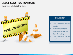 Under construction icons PPT slide 2