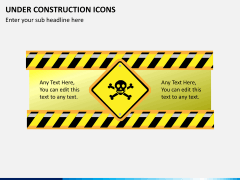 Under construction icons PPT slide 3