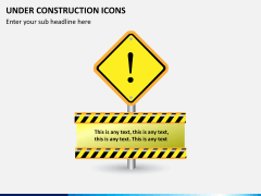 Under construction icons PPT slide 6