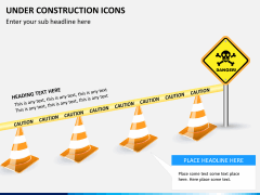 Under construction icons PPT slide 7
