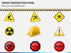 Under construction icons PPT slide 8