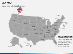 USA map PPT slide 23