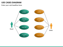 Use cases diagram PPT slide 16