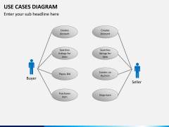 Use cases diagram PPT slide 8