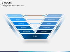 V model PPT slide 1