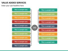Value added services PPT slide 18