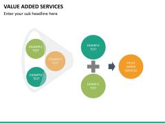 Value added services PPT slide 19