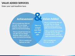 Value added services PPT slide 1