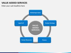 Value added services PPT slide 2