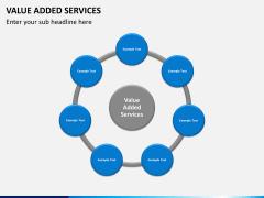 Value added services PPT slide 7