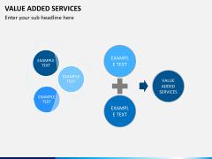 Value added services PPT slide 9