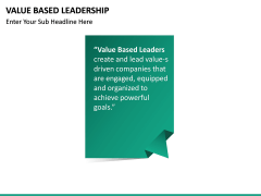 Value Based Leadership PPT slide 15