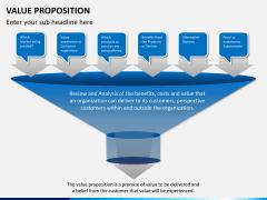 Value proposition PPT slide 1