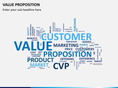 Value proposition PPT slide 22