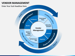 Vendor Management PPT slide 1