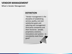 Vendor Management PPT slide 2