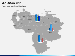 Venezuela map PPT slide 10