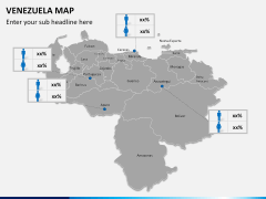 Venezuela map PPT slide 12