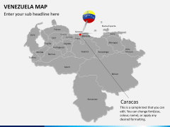 Venezuela map PPT slide 13