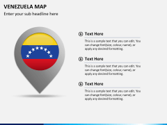 Venezuela map PPT slide 16
