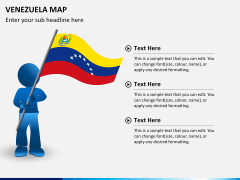 Venezuela map PPT slide 17