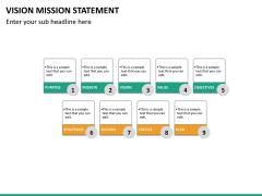 Vision mission statement PPT slide 22