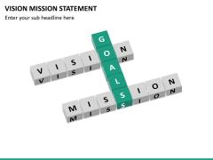 Vision mission statement PPT slide 23