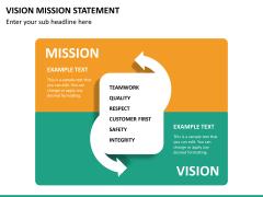 Vision mission statement PPT slide 14