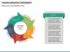 Vision mission statement PPT slide 17