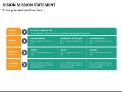 Vision mission statement PPT slide 21