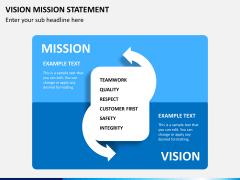 Vision mission statement PPT slide 2