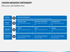 Vision mission statement PPT slide 9