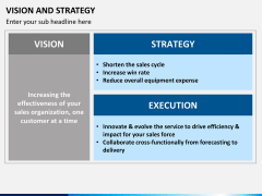 Vision and strategy PPT slide 10