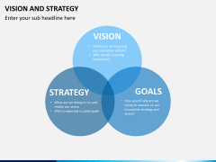 Vision and strategy PPT slide 13