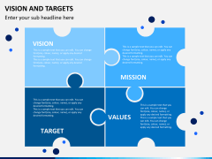 Vision and targets PPT slide 2
