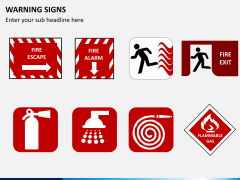 Warning signs PPT slide 4