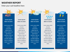 Weather report PPT slide 2